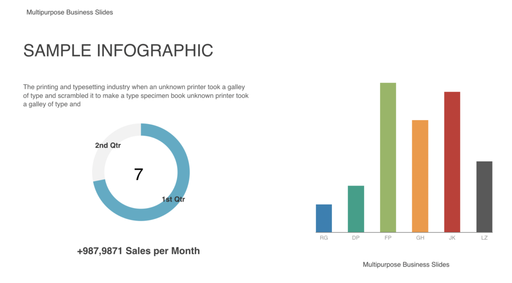 Use Prezi's PowerPoint Converter to zoom into specific areas of charts.