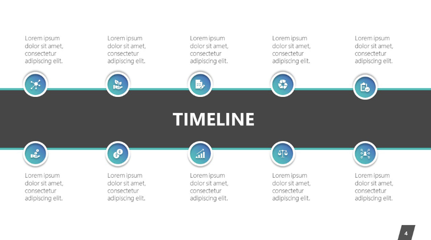 Instead of only having an overwhelming timeline full of information, you can use Prezi to zoom into specific parts.