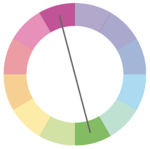 complementary color palette color wheel