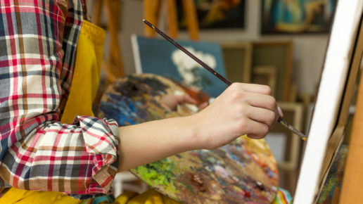 Teaching art online for remote classes
