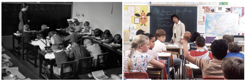 teacher-led instruction in class