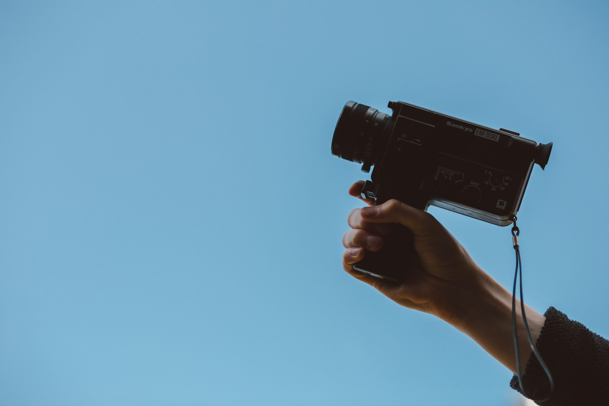 old school video camera