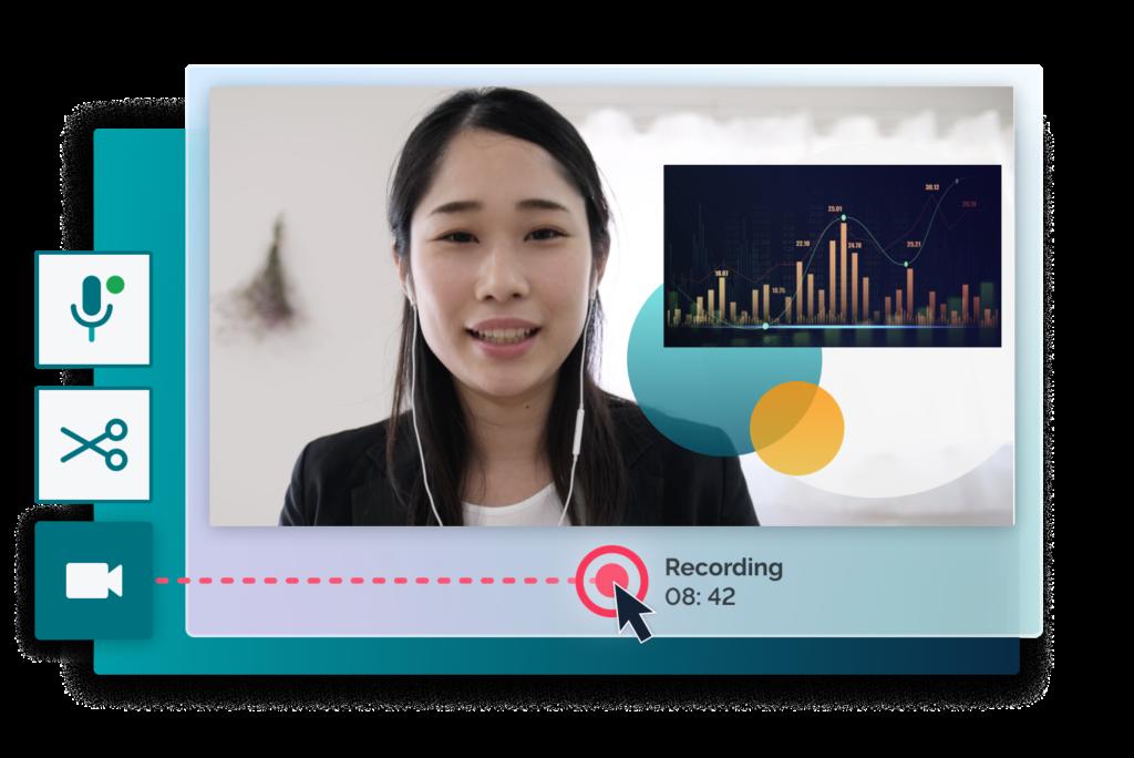 data presentation with prezi design